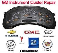 Speedometer and Instrument Cluster Repair
