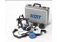 Scott Phantom Vision full mask + Sundstrom Sr100