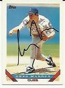 Chicago Cubs Autographs