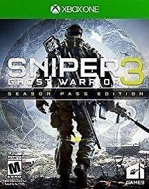 sniper ghost warrior 3 & season pass , xbox one , brand new ! Price stands , no offers ! may swap