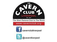 BAR STAFF REQUIRED FOR THE CAVERN CLUB, LIVERPOOL