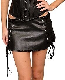 SEXY-BLACK-LEATHER-MINI-SKIRT-SMALL-PLUS-SIZE-6XL-HOT