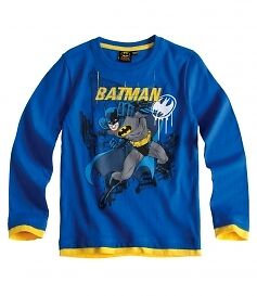 Boys BNWT OFFICIAL BATMAN top t-shirt tshirt 3 4 5 6 7 8 9 10 yrs