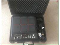 Roland Spd-Sx w/case, mount & kick trigger