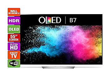 LG 55 OLED 4K HDR TV Television  B7 with 5yr replacement warranty