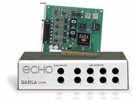PRO SOUNDCARD 24/96 ECHO DARLA 24, IDEAL FOR MUSIC PRODUCTION**********
