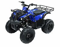 125cc Youth ATV w/Reverse and Remote Start/Stop