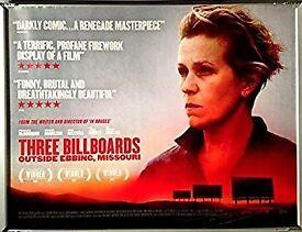 Three Billboards Outside Ebbing, Missouri film poster