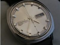vintage Seiko wristwatch '68 in very good condition, replacement strap