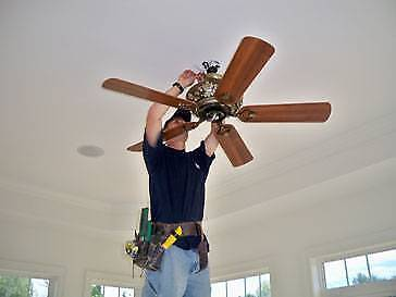 !Cheap CeilingFan install Affordable Electrician Brisbane Insured