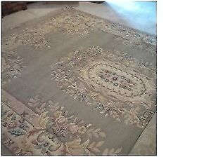 Two Authentic Persian Wool Rugs in Excellent Condition.