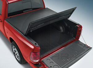 09 13 dodge ram 1500 tri fold folding tonneau cover bed cover 5 7 mopar oem. Black Bedroom Furniture Sets. Home Design Ideas