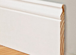 """50% OFF BASEBOARDS! $1.59 for 5 1/4"""" WOOD TRIM"""