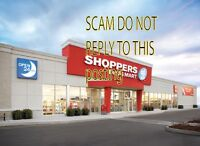 Shoppers drugstore adds are a scam to get your personal info
