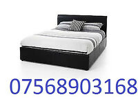 BED BOXING DAY SALE DOUBLE LEATHER RIO BED AND MATT BRAND NEW FREE HEAD BOARD 56