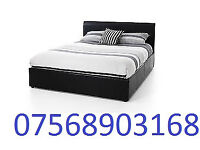 BED BOXING DAY SALE DOUBLE LEATHER RIO BED AND MATT BRAND NEW FREE HEAD BOARD 7854