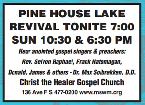 FREE INVITATION TO CHRIST THE HEALER GOSPEL CHURCH