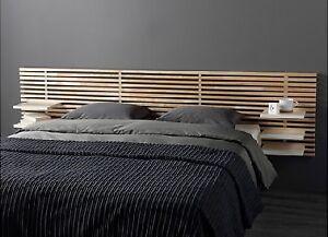 Tête de lit en bois ajouré Mandal