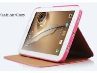 NEW - KAKU Luxury PU Leather Smart Case Stand Magnetic Cover for Samsung Galaxy tablet