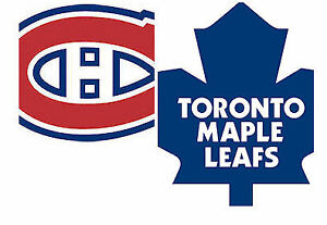 4 Tickets - Toronto Maple Leafs vs. Montreal Canadiens IN MTL