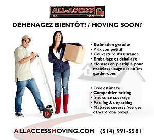 Moving Demenagement Montreal Movers Demenageurs