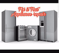 Fix it Fast Appliance repair-fast & affordable