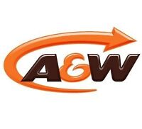 Full Time KITCHEN Position A&W Portage Place Food Court