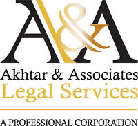 Akhtar Legal Services - Call Us Now 289-632-1571