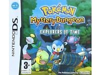 Pokemon Mystery Dungeon: Explorers of Time (Nintendo DS, 2008)