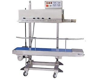 HORIZONTAL AND VERTICAL BAG BAND SEALER FOR SALE!