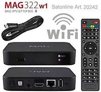 IPTV BOX (MAG322W1) FOR $135 ONE MONTH FREE IPTV