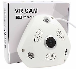 New 3D panoramic VR Cam Security Surveillance Camera System