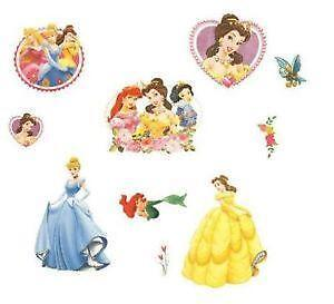 Disney Princess Wall Stickers EBay - Make your own decals uk