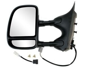 NEW 02-07 F2250SD DUAL ARM WITH SIGNAL HEATED DOOR MIRROR NEW