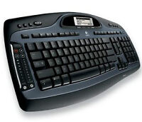 Clavier multimedia Logitech bluetooth desktop mx5000 laser