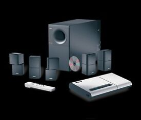 BOSE Lifestyle 12 home cinema system with Bluetooth.