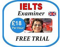 Online IELTS Examiner/Tutor - £18 per hour FREE 15 min Trial- British English Teacher Skype Lessons