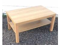 Oak Effect coffee table - £20