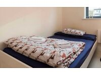 Bed Duvet (Single) + 1 Pillow Case + 1 Bed Cover (Double)