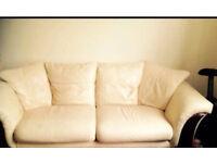 Sofa leather 3 seater