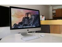 "iMac 27"" Intel Quad Core i5 2.7GHz (2011) 16GB RAM Apple wireless Keyboard+Magic Mouse Latest 10.12"