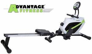 NEW ADVANTAGE FOLDING FITNESS ROWER Sports Rec Exercise Fitness Exercise WORKOUT GYM EQUIPMENT ROWERS  85541991