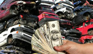 Pay cash for your old vehicles