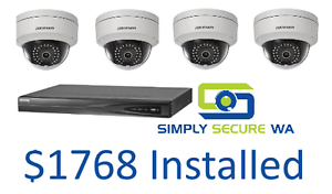 Genuine HIKVision CCTV System for $1768 installed! Perth Perth City Area Preview