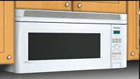 "Panasonic Genius Inverter Microwave ""Over the range"""