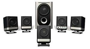 Altec Lansing Surround Sound Computer Speakers with Subwoofer