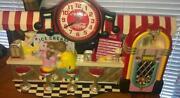 Coca Cola Diner Clock