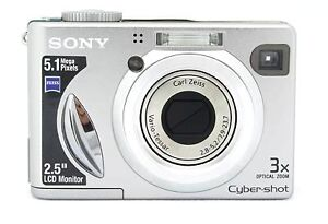 Sony Cyber-Shot 5.1 MP Digital Camera & Charger