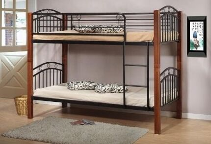Harvey Norman Bunk Bed. Can also be used as 2 single beds.
