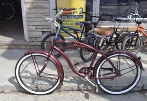 """Vélo cruiser style vintage norco sekine 19""""/ VENEZ PROFITER DE NOTRE PROMOTION DE 25% DE RABAIS SUR TOUTES NOS VÉLOS!"""